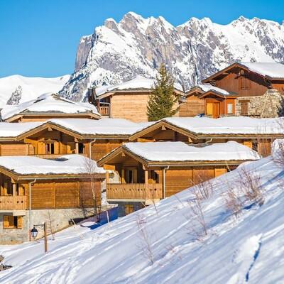 Skijanje u Francuskoj, Valmeinier, Le Grand Panorama II, apartmani izvana.