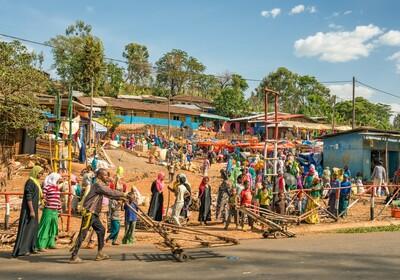Etiopija - Addis Abbaba