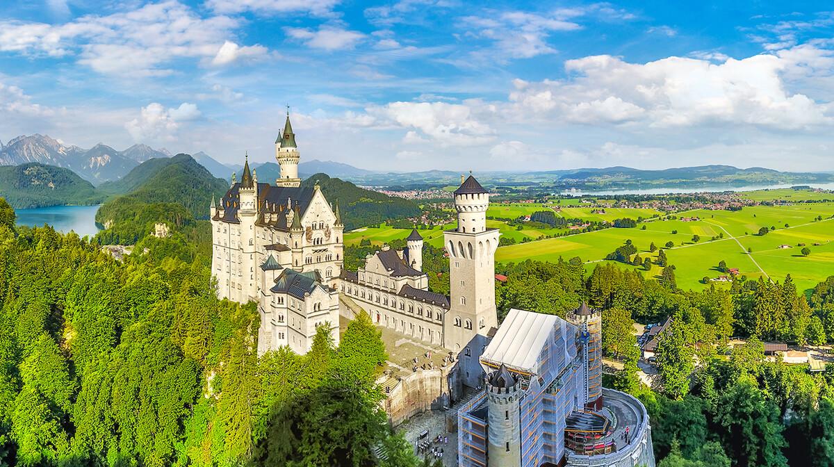 Dvorci Bavarske - Neuschwanstein casrtle