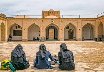 Iran, Yame mosque, Yazd