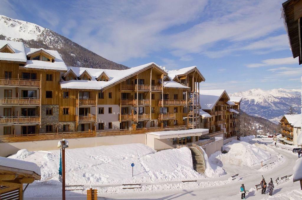 Skijanje Francuska, Les Orres, Residence Les Balcons des Airelles, izvana.