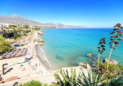 Predivna plaža  na Costa del Sol, putovanje Andaluzija