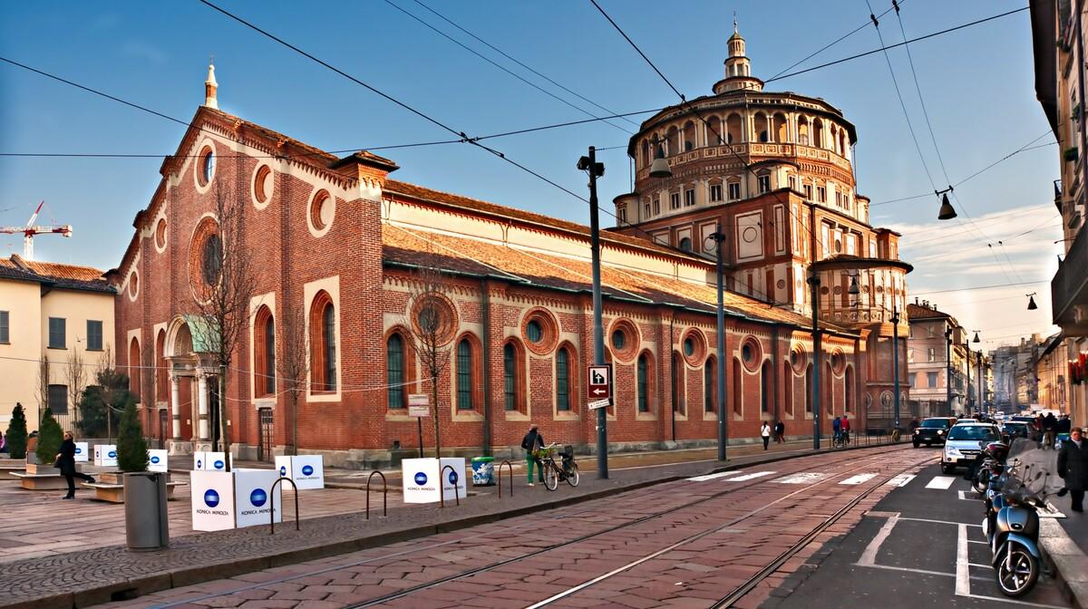 Santa Maria dlle Grazie, putovanje u milano, garantirani polasci