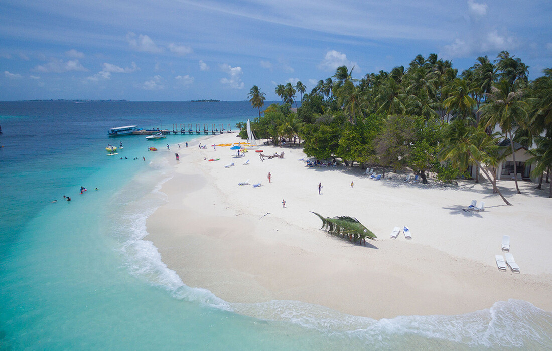Maldivi ponuda mondo travel, Malahini Kuda Bandos, plaža