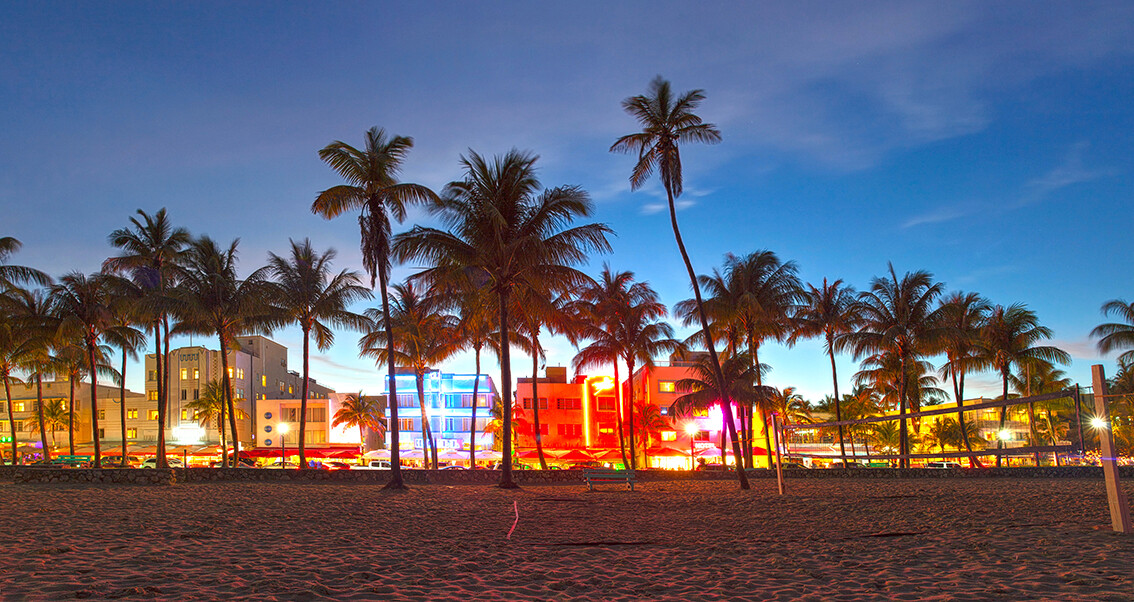 Ocean drive, Miami beach, putovanje Florida, daleka putovanja, garantirani polasci