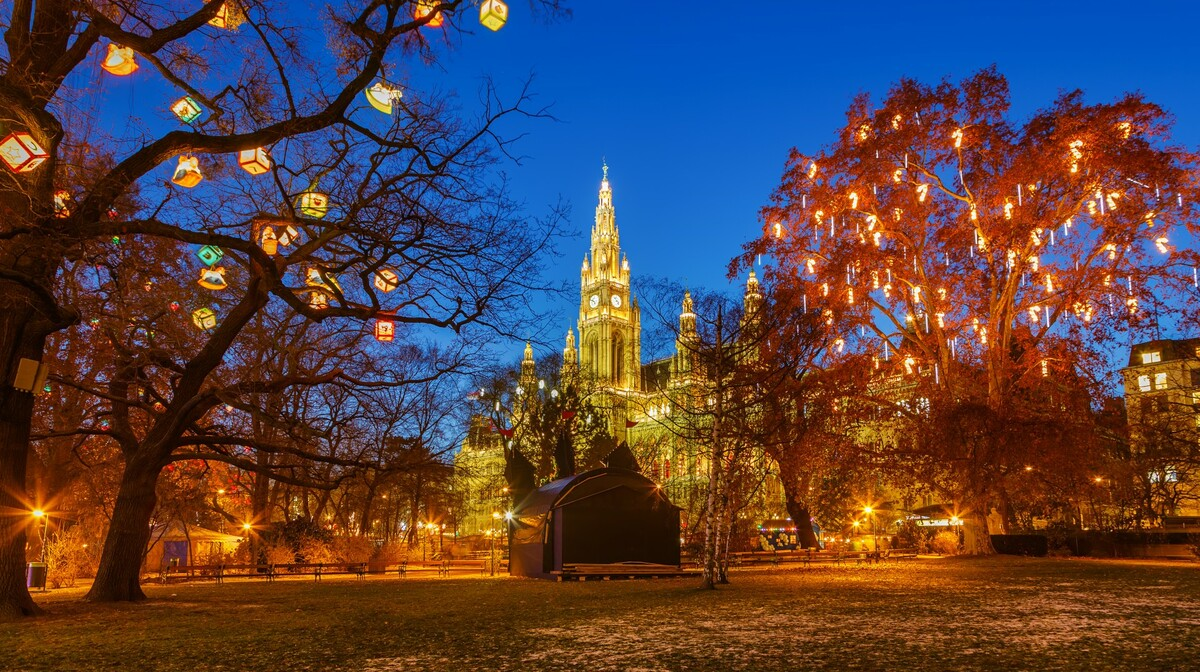 Beč - advent