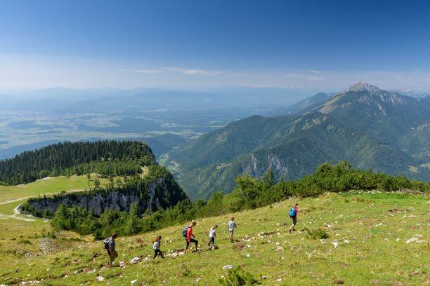 Planina Krvavec, planinarenje uz predivan pogled