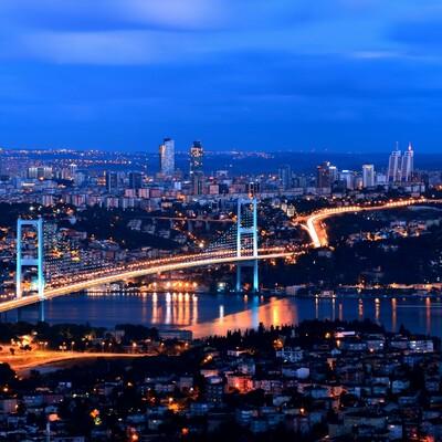 Istanbul po noći