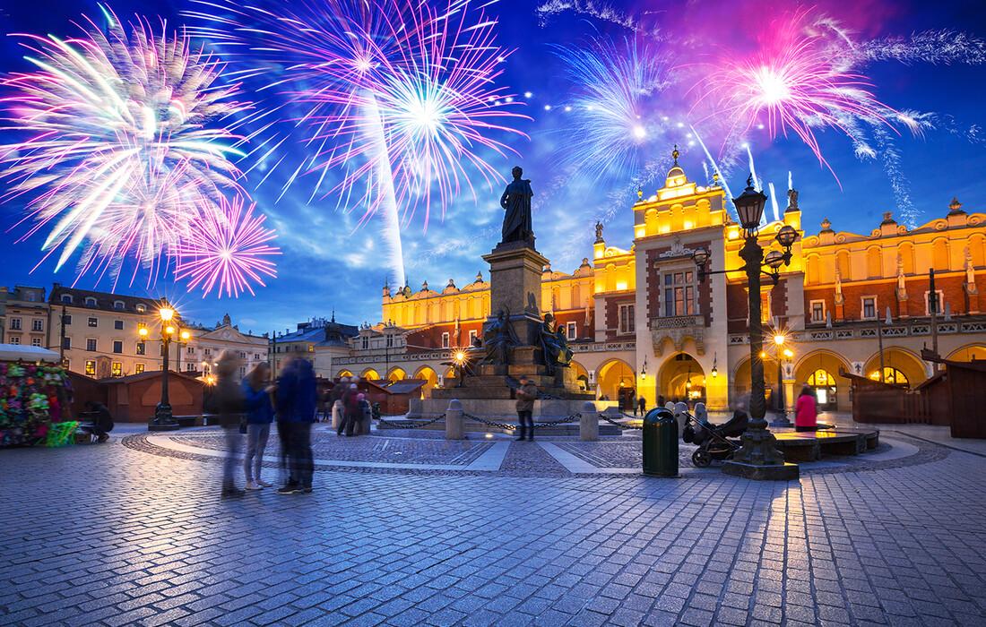 Krakow, Nova godina