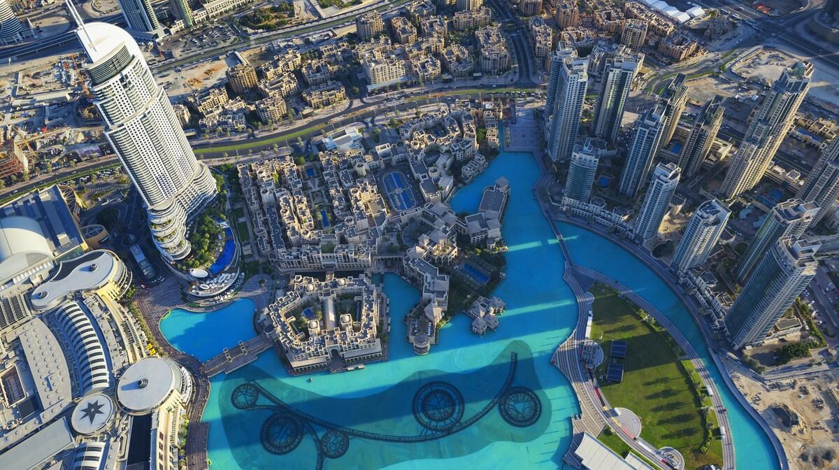 Pogled sa Burj Khalife, Putovanje u Dubai, Emirati, grupni polasci, daleka putovanja