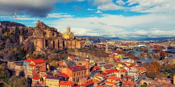 Gruzija, Tibilisi, daleko putovanje u Gruziju, pogled na glavni grad Gruzije, polasci grupni