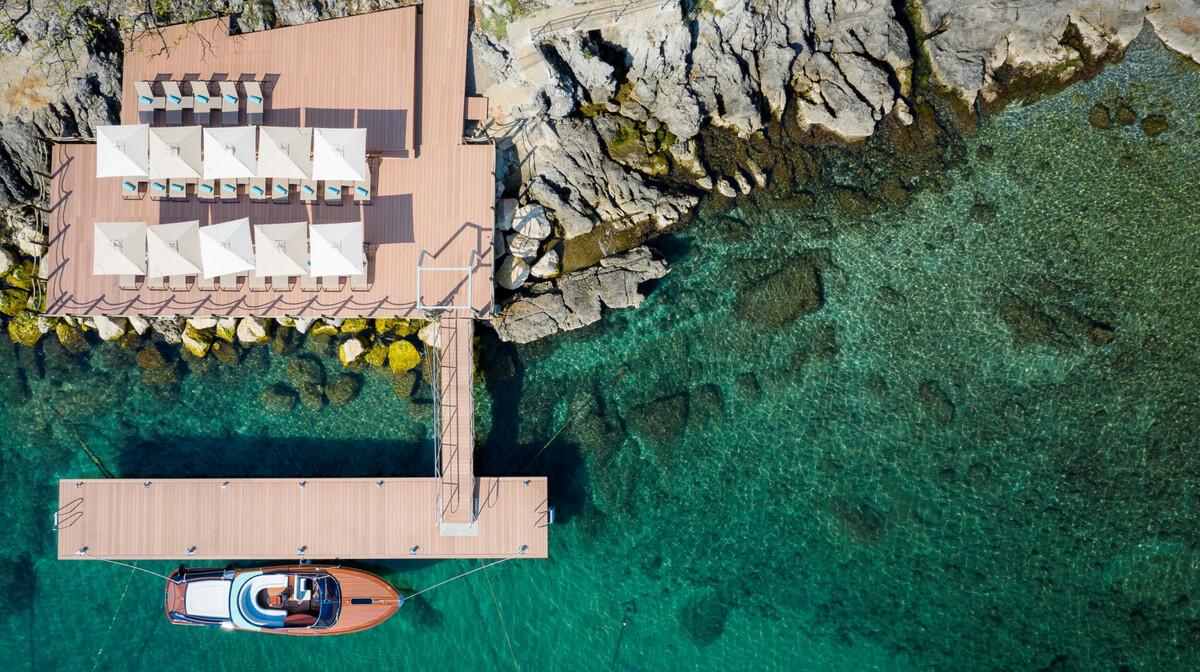 Hotel Ikador, plaža