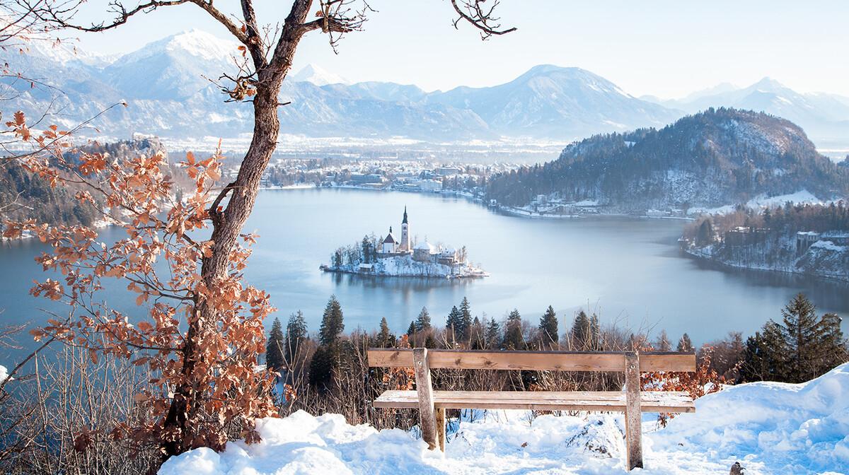 Bled, zima