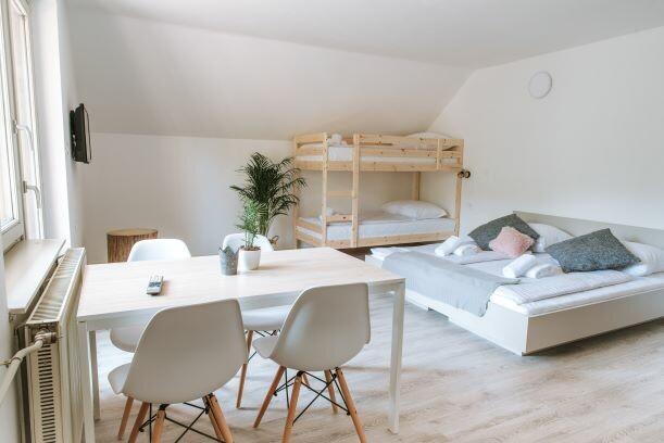 Skijanje i wellness u Sloveniji Apartmani Triglav, family apartman