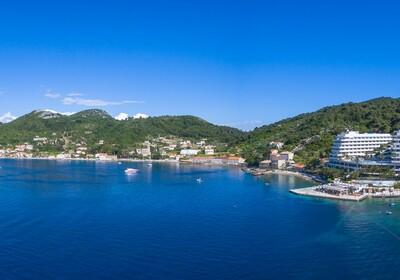 Panorama otoka Lopuda, Lafodia Sea Beach.