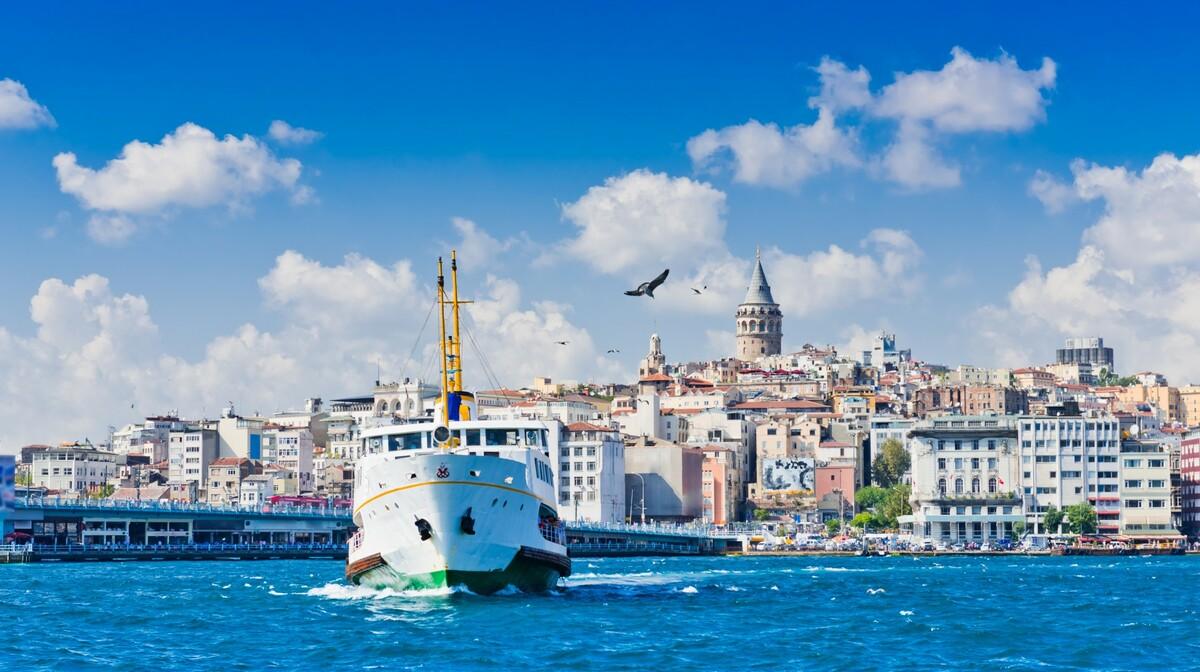 Krstarenje Bosporom, putovanje zrakoplovom u Istanbul