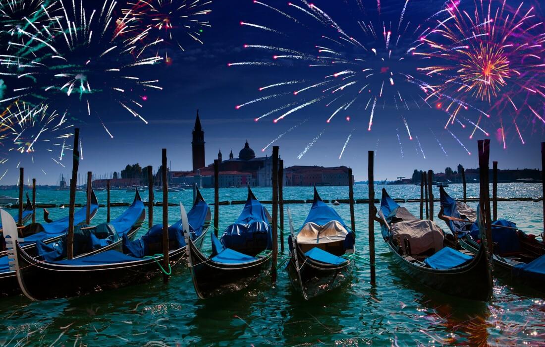 vatromet u Veneciji, autobusna putovanja, Mondo travel, europska putovanja