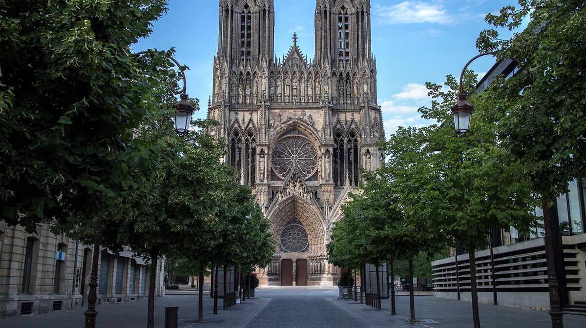 Katedrala Notre Dame, Reims, putovanje