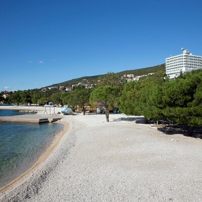 Crikvenica, Hotel Omorika, plaza