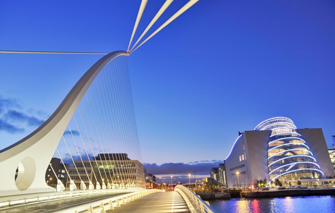 Dublin - Samuel Beckett bridge