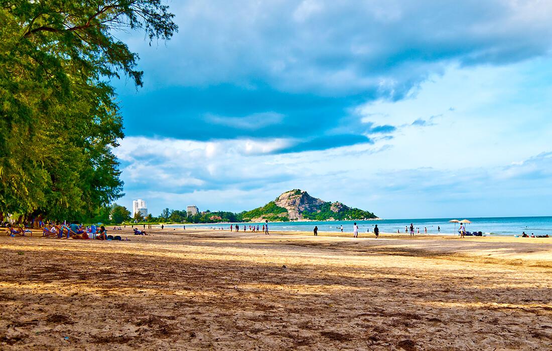 plažaHua Hin, putovanja zrakoplovom, Mondo travel, daleka putovanja, garantirani polazak