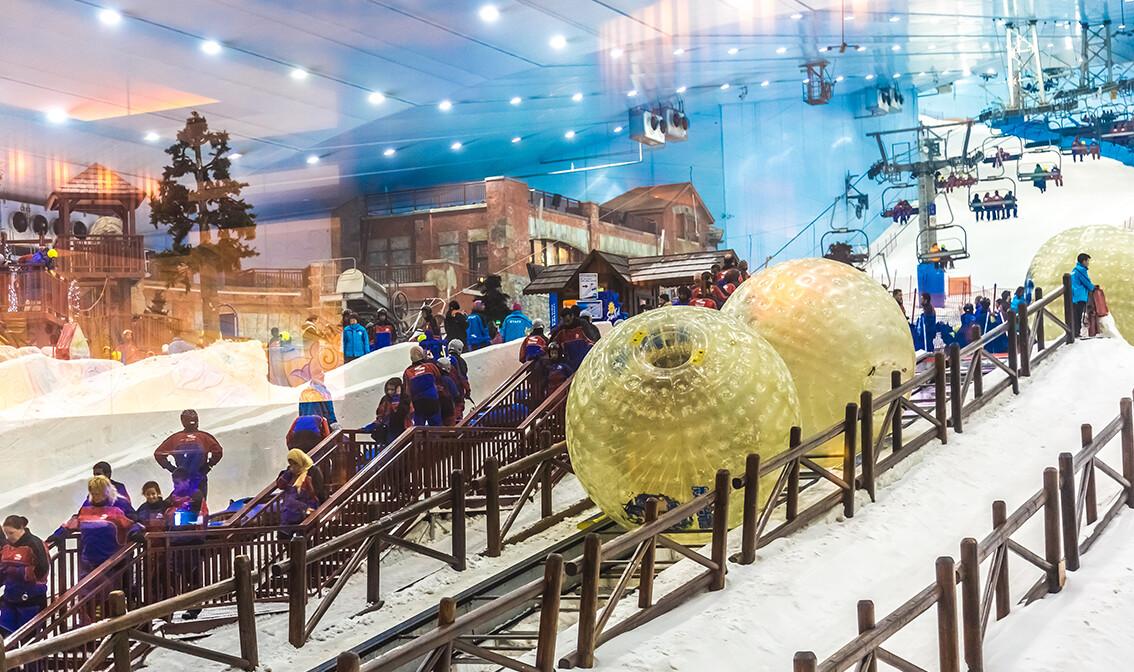 Skijanje  u Dubaiu, Mall of Emirates, putovanje u Dubai, Daleka putovanja, garantirani polasci