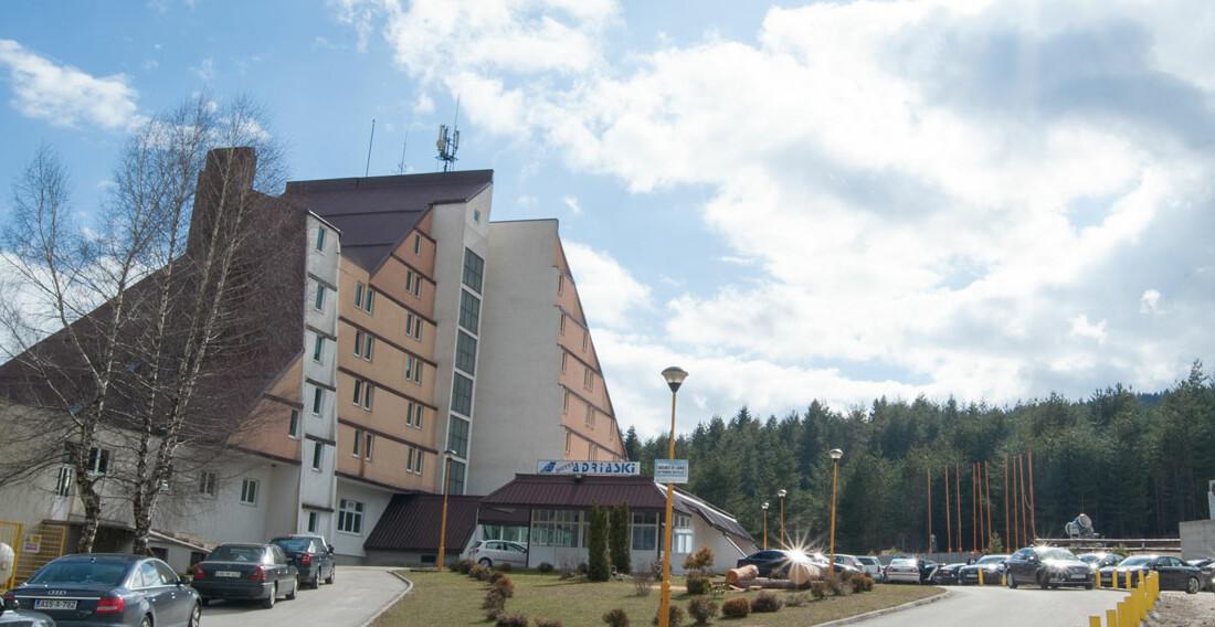 Hotel Adria Ski u Kupresu.
