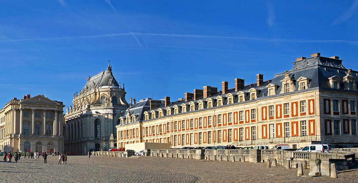 Dvorac Versailles, putovanje Pariz