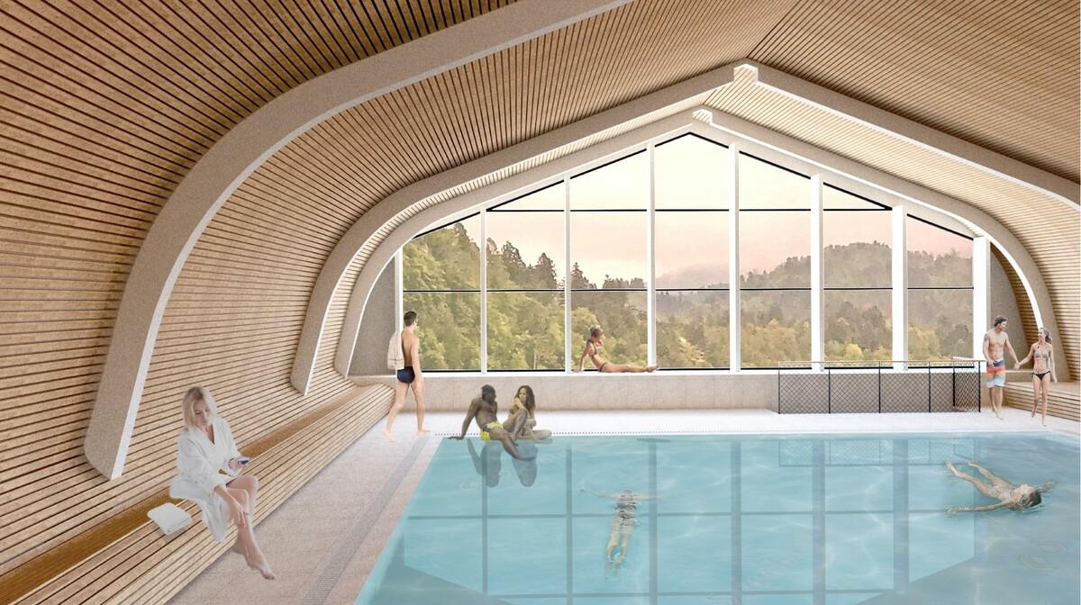 Skijanje i wellness u Sloveniji, Bled, Hotel Park, bazen animacija