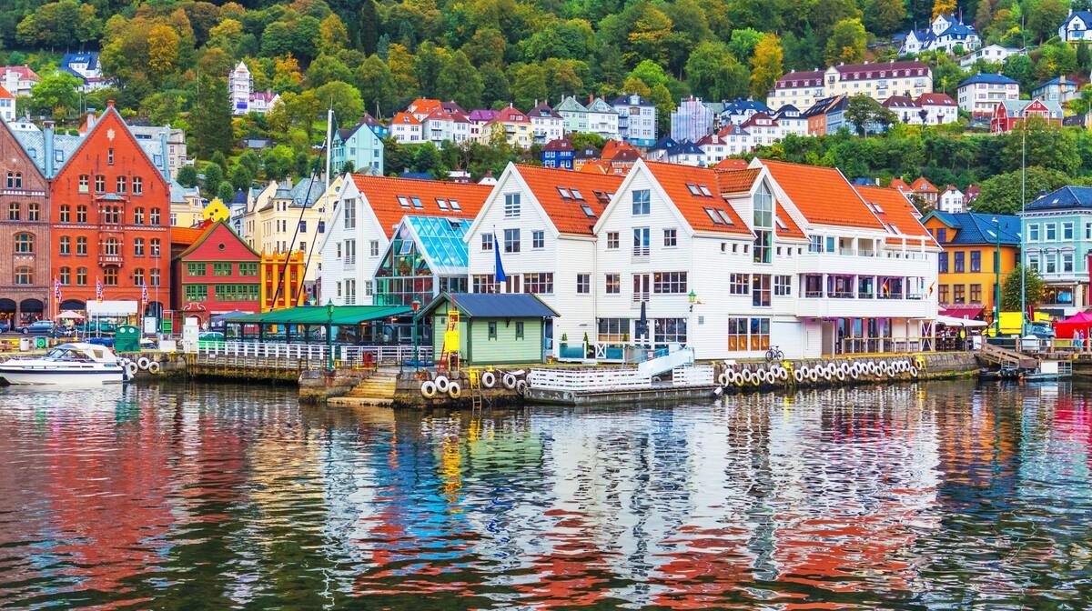 Šarmantni Bergen, putovanje Norveški fjordovi, Skandinavija