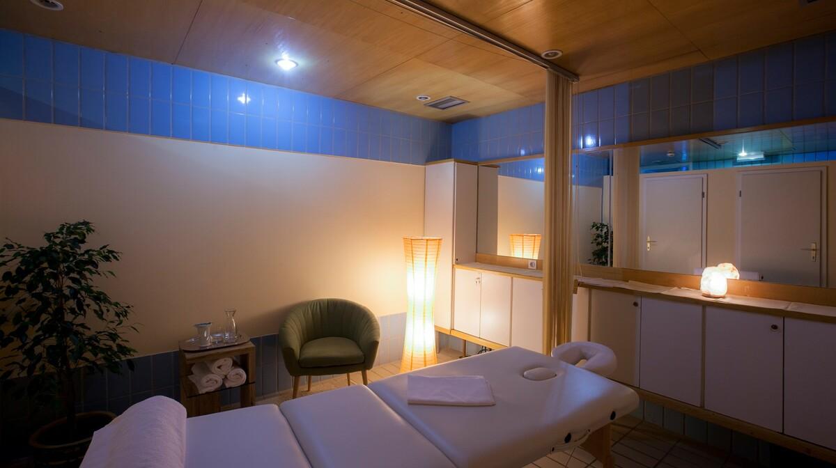 Skijanje i wellness u Sloveniji, Bohinj Hotel Jezero, wellness dio za masaže