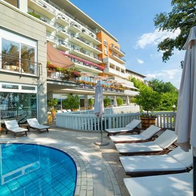 Hrvatska, Grand Hotel 4 opatijska cvijeta, vanjski bazen