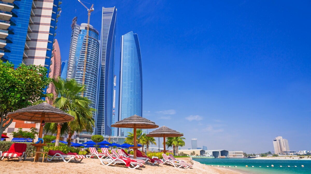 Plaža uz panoramu nebodera, putovanje u Dubai, Emirati, grupni polasci, daleka putovanja