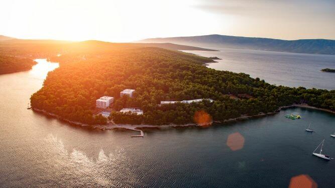 Vrboska, Labranda hotel Senses, zalazak sunca