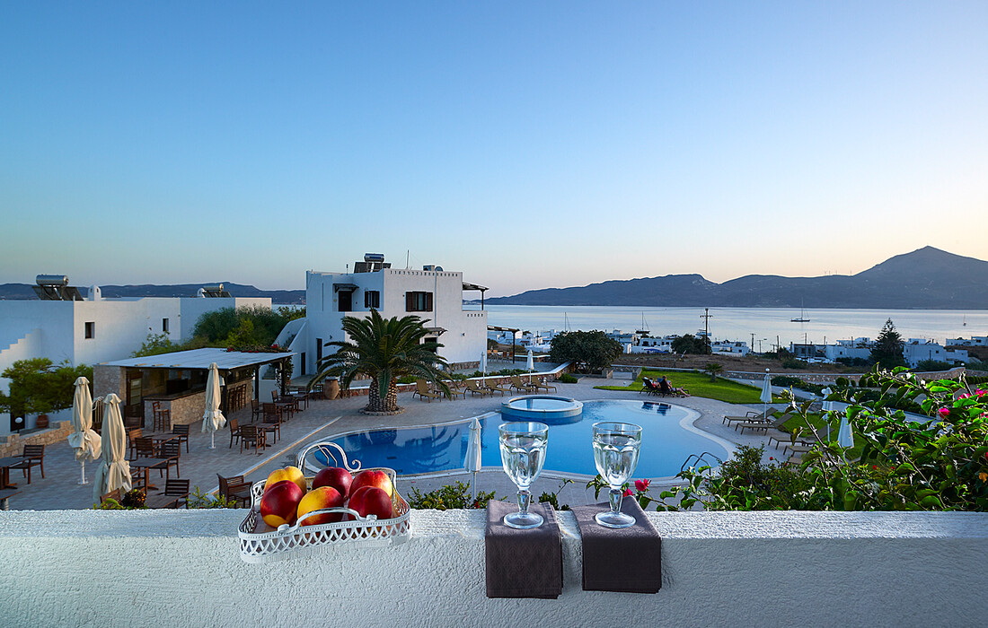 Milos, Adamas, Hotel Santa Maria Village