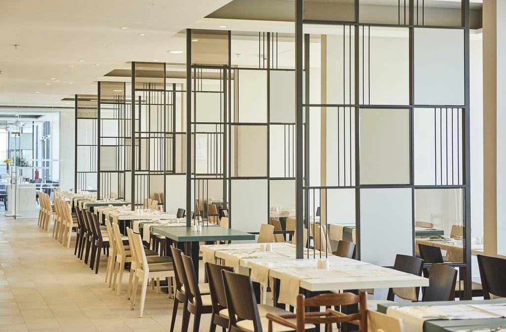 Umag, Hotel Sol Sipar, unutarnji dio restorana