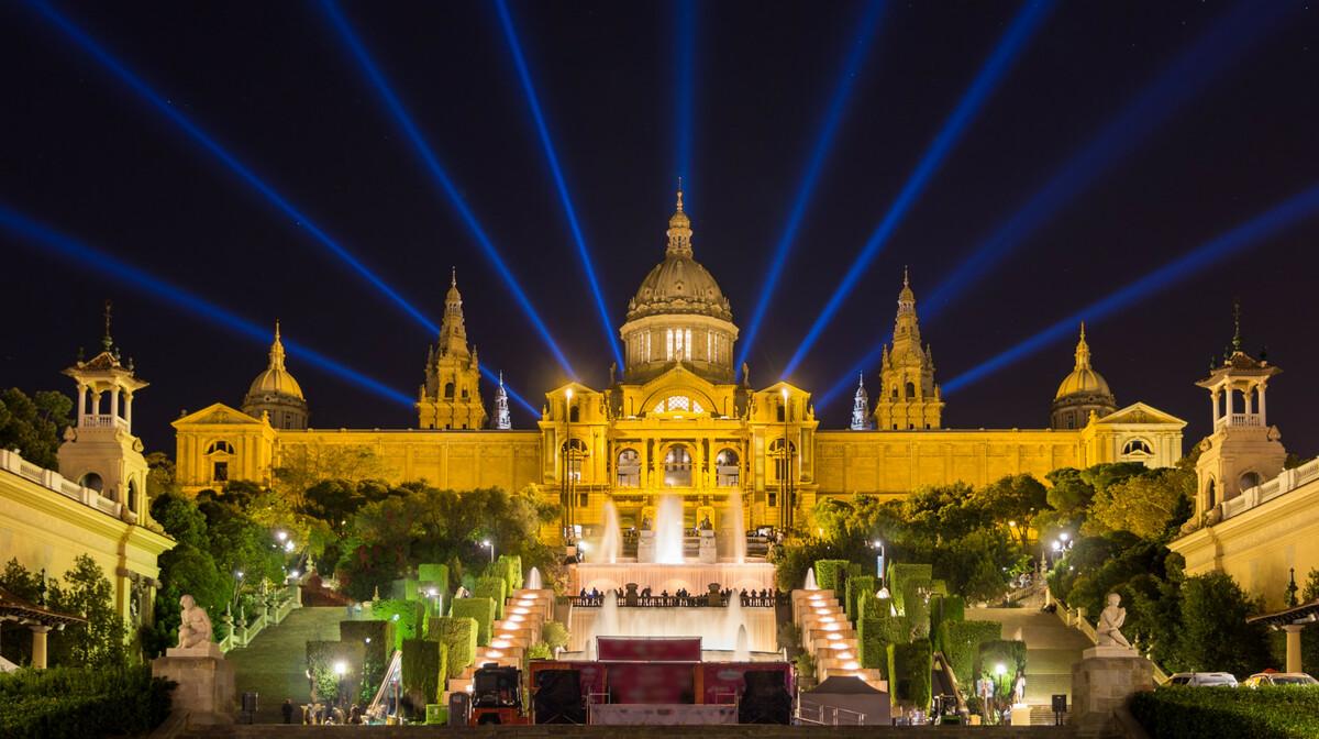 Nacionalana palača, putovanje Barcelona, garantirani polasci