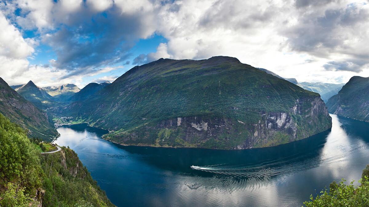 Prekrasna priroda, putovanje Norveški fjordovi