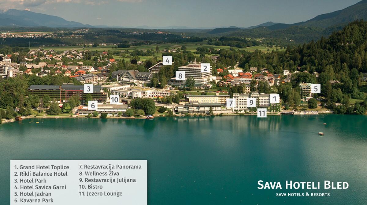 Bled, panorama