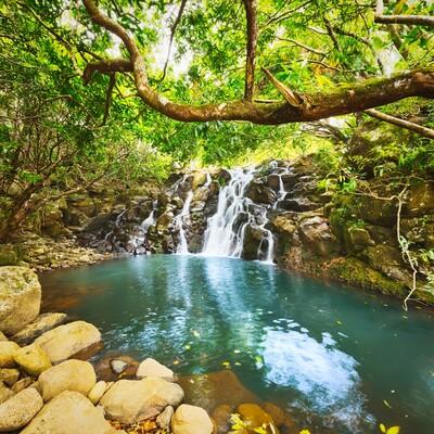 Mauricijus, slapovi na Mauricijusu, daleko putovanje na Mauricijus,
