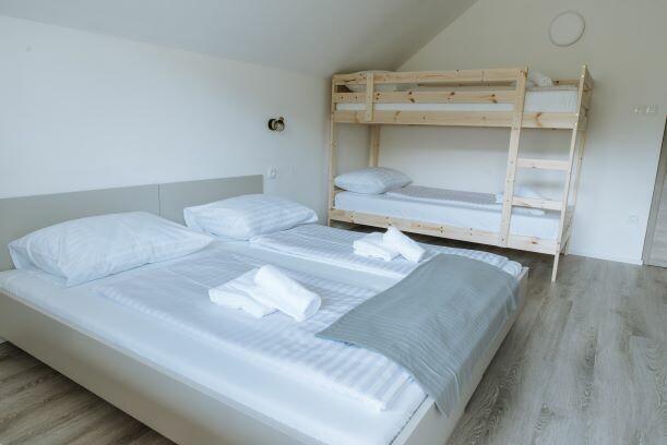 Skijanje i wellness u Sloveniji Apartmani Triglav, obiteljska soba max 4