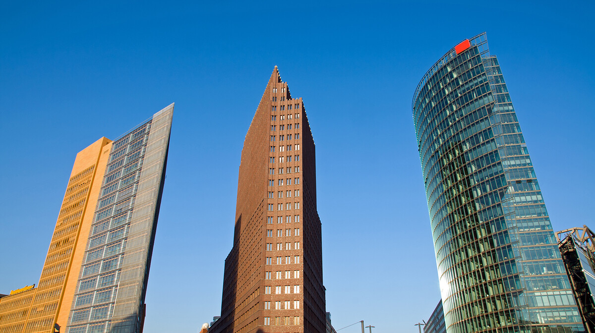 Berlin, Potsdamer Platz - moderno središte s izvanrednim primjerima suvremene arhitekture