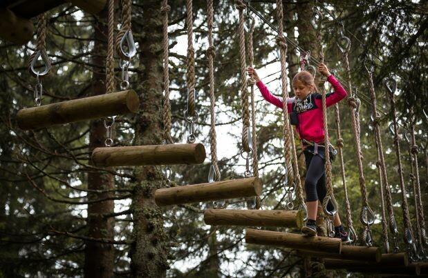 Slovenija, Krvavec, adrenalinski park za djecu