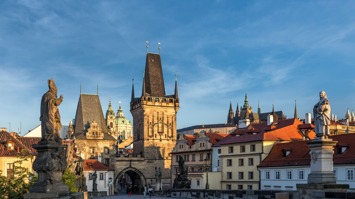 Prag - Karlov most