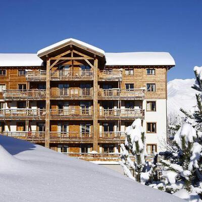 Skijanje u Francuskoj, Les 2 Alpes, Residence Alba,