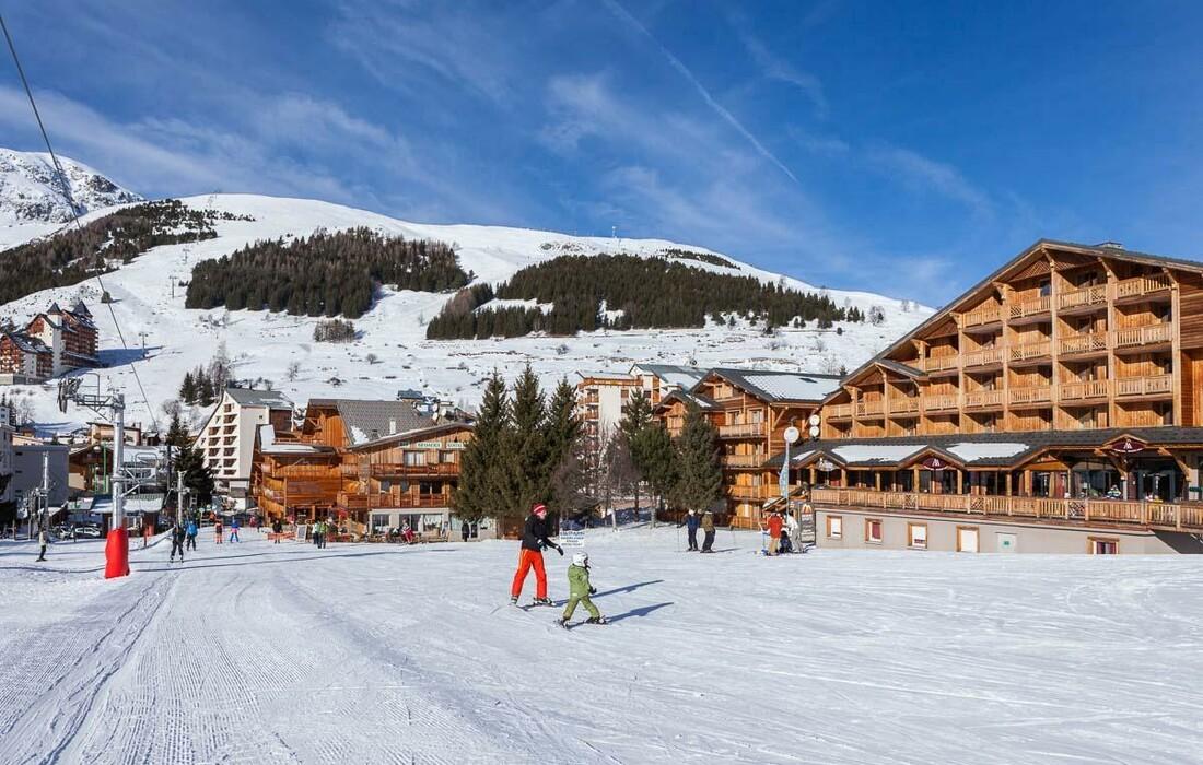 Skijanje u Francuskoj, Les 2 Alpes.