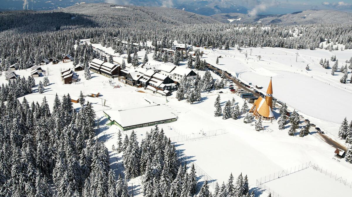 skijanje slovenija, Rogla