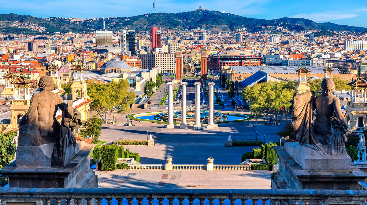 trg placa Espana, putovanje Barcelona, Španjolska tura