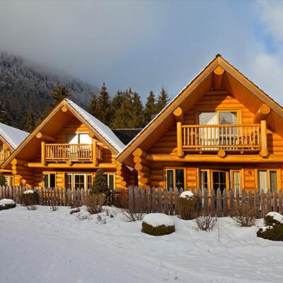 Skijanje u Italiji, skijalište Kronplatz, Residence Corones, pogled izvana