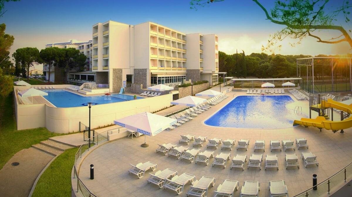 Biograd, Hotel Adria, panorama